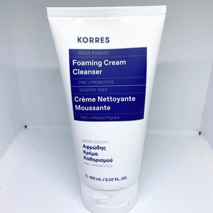 Korres foaming cream cleanser